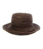 ヘレンカミンスキー HELEN KAMINSKI ストロー ハット 茶 ブラウン ラフィア 麦わら 帽子
