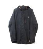 CHUR スキー ウエア ジャケット 中綿 ジップアップ フード 黒 ブラック M ウインタースポーツ MDM X
