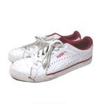 プーマ PUMA スニーカー テニスシューズ トレーニングシューズ 白 赤 ホワイト レッド 27cm X