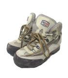 グランドキング grandking ビブラム vibram トレッキングシューズ アウトドア用品 靴 登山 GORE-TEX 23.5cm ベージュ X