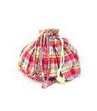 アーノルドパーマー Arnold Palmer トートバッグ ショルダー 巾着 鞄 チェック ピンク系