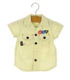 ビッツ BIT'Z ミリタリー シャツ 半袖 刺繍 90 ベージュ系 トップス 男の子 子供服