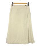マーガレットハウエル MARGARET HOWELL コットン リネン ツイル スカート 2019SS アイボリー系 0 ボトムス COTTON LINEN TWILL