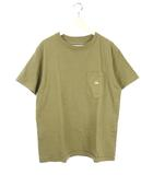 ノースフェイス パープルレーベル THE NORTH FACE PURPLE LABEL ポケット Tシャツ 7oz H/S Pocket Tee グレイッシュカーキ L 半袖 トップス 刺繍 カットソー ナナミカ