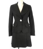 ヴィヴィアンウエストウッド Vivienne Westwood RED LABEL セットアップ 変形 スカート ジャケット オーブ ボタン 2 ブラック 黒 ウール スーツ