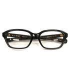 金子眼鏡 KANEKO OPTICAL メガネ フルリム セルロイド ブラック 黒 KC-69 スクエア めがね アイウェア