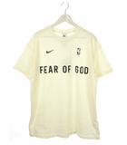 ナイキ NIKE フィアオブゴッド FEAR OF GOD トップス Tシャツ M アイボリー NRG W TOP 2020AW カットソー 半袖