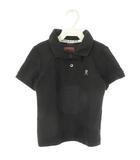 マーク&ロナ MARK&LONA キッズ ポロシャツ ボウタイ付き 2way ブラック 黒 S 100cm 子供服 トップス 半袖