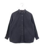 コットンネル コモリ シャツ 1 ネイビー 紺 トップス 長袖