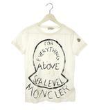 モンクレール MONCLER ペイント Tシャツ マグリア MAGLIA ホワイト 白 M カットソー 半袖 トップス