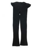 ルグランブルー L.G.B リブ ニット レギンス パンツ レギパン フルレングス 黒 ブラック 1 Y