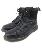 ドクターマーチン DR.MARTENS ショート ブーツ 8ホール レザー ワークブーツ 27.5cm 黒 ブラック S