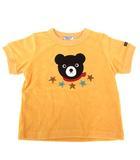 ミキハウス ダブルビー ダブルB MIKIHOUSE DOUBLE.B クロクマ Tシャツ カットソー 半袖 パイル タオル地 トップス オレンジ 90 Y9299