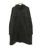 エンジニアードガーメンツ Engineered Garments レインコート ジャケット チェック ダブルジップ フラップポケット 黒 ブラック M Y9327