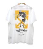 オフホワイト OFF WHITE × アンダーカバー UNDERCOVER 19AW Tシャツ SKELETON DART S/S T-SHIRT 半袖 スケルトン プリント カットソー M 白 ホワイト S692