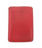 イルビゾンテ IL BISONTE 定期入れ パスケース レザー IDカード ケース 皮革 ジャンク 赤 レッド S IBS52