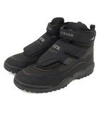 ムーンスター MoonStar STRIDER ハイカット シューズ アウトドア 登山靴 トレッキング かかとスパイク 完全防水 WATER PROOF PERFECT 26.5EE 黒 ブラック A