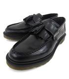 ドクターマーチン DR.MARTENS ADRIAN 14573001 タッセル ローファー ポリッシュレザー シューズ エイドリアン UK9 28cm 黒 ブラック S