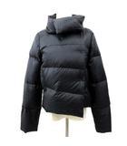 セオリー theory ショート ダウン コート 軽量 ジャケット 無地 ブルゾン 2 Mサイズ 黒 ブラック S1983