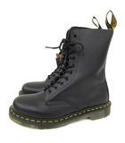 ドクターマーチン DR.MARTENS 1490Z 10EYE BOOT 10ホール ブーツ スムースレザー レースアップ UK7 26.0 cm 黒 ブラック 10092001 A