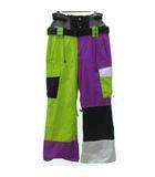 FOUR UNDERGROUND CLOTHING DESIGN スノーボード スノボ ウエア 装備 パンツ ロング ウィンター スポーツ ナイロン マルチカラー M FK