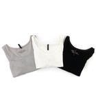 ヌーディージーンズ nudie jeans タンクトップ 3点セット カットソー ノースリーブ グレー 白 ホワイト 黒 ブラック M FK ECR3