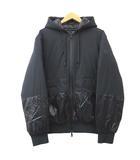 モンクレール MONCLER 黒タグ 20AW グーテ GOUTER ダウンジャケット バックロゴ ナイロン コート イタリア製 国内正規 3 XLサイズ 黒 ブラック ECR7