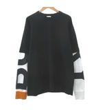 バーバリー BURBERRY 20AW フェイクレイヤード Tシャツ 長袖 FERNFORD BB8029139 ロンT 国内正規 M 黒 ブラック