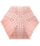 バーバリー BURBERRY 折り畳み傘 雨傘 日傘 晴雨兼用 パラソル アンブレラ ノバチェック ピンク UV加工 オーロラ株式会社