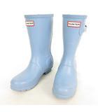 ハンター HUNTER WFS1000RMA ORIGNAL SHORT ショート レインブーツ 長靴 UK3 ブルー