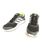 アディダス adidas AF6668 デュラモ7 Duramo7 ランニングシューズ 27cm ブラック