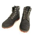ティンバーランド Timberland 6324 6INCH PREMIUM BOOTS 6インチ ブーツ ヌバック 10 ブラック