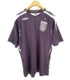 アンブロ UMBRO 2007-2009 イングランド シャツ ユニフォーム L パープル