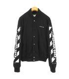 オフホワイト OFF WHITE 19SS Diagonal gabardine bomber jacket ジャケット ブルゾン M ブラック 国内正規品 ☆AA★