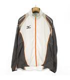 ミズノ MIZUNO ウインドブレーカー ジャケット ランニング トレーニング M グレー オレンジ