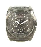 ゲス GUESS W13513G1 クオーツ 腕時計 レザーベルト ブラック