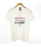 パンダハウス PANDA HOUSE トップス Tシャツ テニスウエア 半袖 L ホワイト