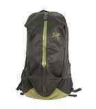 アークテリクス ARC'TERYX Arro22 Backpack アロー22 バックパック リュックサック 24016 wildwood 黒 カーキ