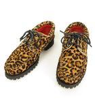 シュプリーム SUPREME ティンバーランド Timberland 3-Eye Classic Lug Shoe デッキシューズ レオパード 27.5cm US9.5 茶系 ☆AA★