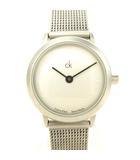 カルバンクライン CALVIN KLEIN K03131 K03132 クオーツ 腕時計 メッシュベルト 2針 シルバー系