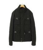 ヒューゴボス HUGO BOSS M-65 フィールド ジャケット コート 中綿 50 ブラック 黒