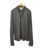 ルードギャラリー RUDE GALLERY ロングスリーブ ポロシャツ カットソー トップス 長袖 4 グレー IBS63