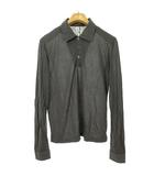 ルードギャラリー RUDE GALLERY ロングスリーブ ポロシャツ カットソー トップス 長袖 2 グレー IBS63