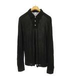 ルードギャラリー RUDE GALLERY ロングスリーブ ポロシャツ カットソー トップス 長袖 4 ブラック IBS63