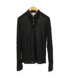 ルードギャラリー RUDE GALLERY ロングスリーブ ポロシャツ カットソー トップス 長袖 3 ブラック IBS63