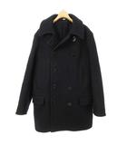 バズリクソンズ BUZZ RICKSON'S BR14146 PEA COAT NAVAL CLOTHING FACTORY LONG MODEL ピーコート ロング 40 ダークネイビー