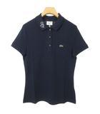 ラコステ LACOSTE PF4122L キース・ヘリング Keith Haring 襟グラフィック ポロシャツ トップス 半袖 36 ネイビー 国内正規品