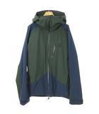 ホグロフス HAGLOFS 604135 niva jacket 二ーバー ジャケット マウンテンパーカー L グリーン ネイビー