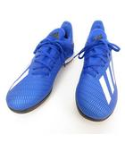 アディダス adidas EG7155 エックス 19.3 Turf Boots サッカー フットサル トレーニング シューズ 27cm ブルー