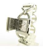 クリスチャンディオール Christian Dior D78-100 Pandiora パンディオラ クオーツ 腕時計 ブレスレット ミラー文字盤 シルバー